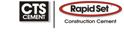 CTS Cement / Rapid Set Logo